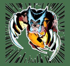 X-MEN Wolverine sticker #20075