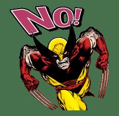 X-MEN Wolverine sticker #20078