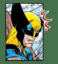 X-MEN Wolverine sticker #20079