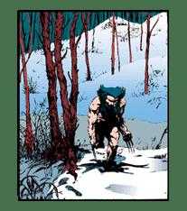 X-MEN Wolverine sticker #20081