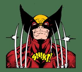 X-MEN Wolverine sticker #20082