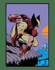 X-MEN Wolverine sticker #20084
