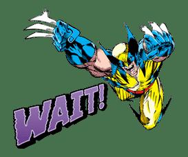 X-MEN Wolverine sticker #20085