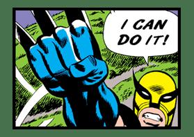 X-MEN Wolverine sticker #20086