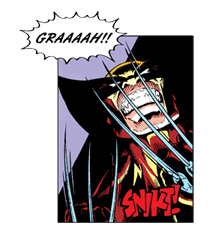 X-MEN Wolverine sticker #20097