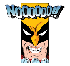 X-MEN Wolverine sticker #20099