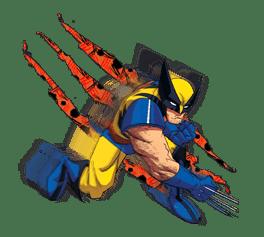 X-MEN Wolverine sticker #20108