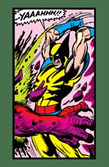 X-MEN Wolverine sticker #20109