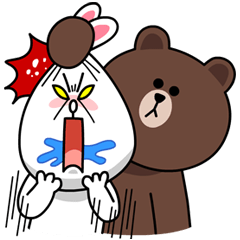 line stickers moon special edition