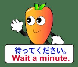 Japanese and English3 sticker #6939405