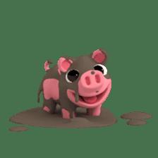 Cute Rosa sticker #6981492