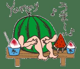 Funny suikachan sticker #6988250