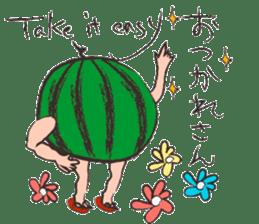 Funny suikachan sticker #6988259