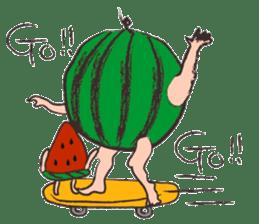Funny suikachan sticker #6988267