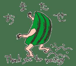 Funny suikachan sticker #6988270
