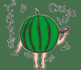 Funny suikachan sticker #6988272