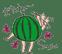 Funny suikachan sticker #6988274