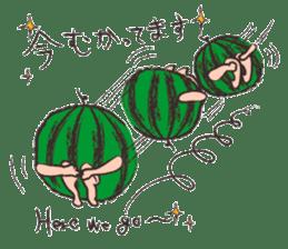 Funny suikachan sticker #6988280