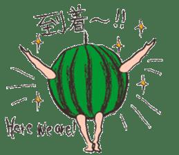 Funny suikachan sticker #6988281
