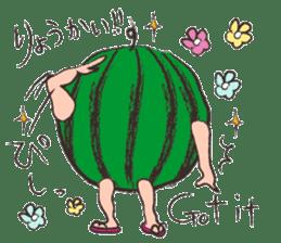 Funny suikachan sticker #6988282
