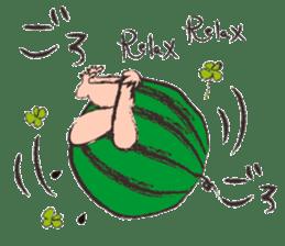 Funny suikachan sticker #6988284