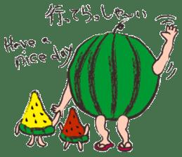 Funny suikachan sticker #6988285