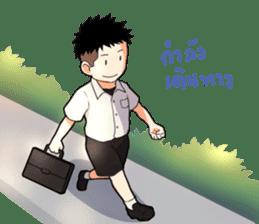 Thai Student Boys 3 Colors sticker #7036471