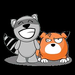 MR.BUDDY: Racoon & Fox