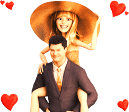 The Gorgeous Couple in Love sticker #8066786