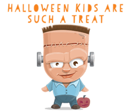 Trick-or-Treat! Halloween Party sticker #8212301