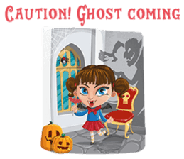 Trick-or-Treat! Halloween Party sticker #8212304