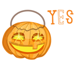 Trick-or-Treat! Halloween Party sticker #8212306
