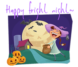 Trick-or-Treat! Halloween Party sticker #8212310