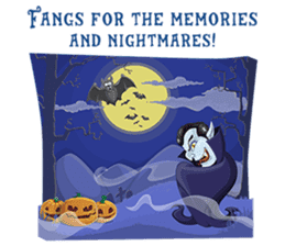 Trick-or-Treat! Halloween Party sticker #8212313
