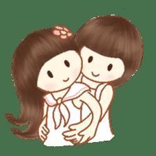 Love, Forever U & Me sticker #8943430