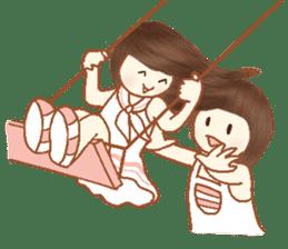 Love, Forever U & Me sticker #8943436
