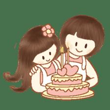 Love, Forever U & Me sticker #8943456