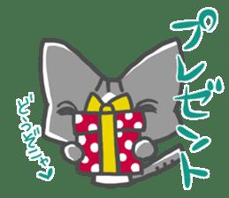 Christmas of nyanko sticker #9026241