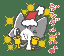 Christmas of nyanko sticker #9026242