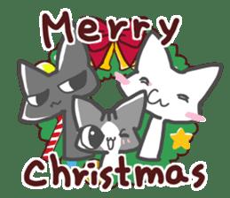 Christmas of nyanko sticker #9026246