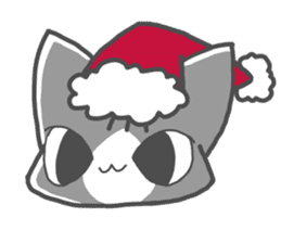 Christmas of nyanko sticker #9026257
