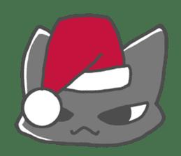 Christmas of nyanko sticker #9026258