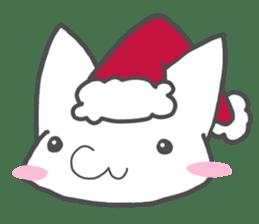Christmas of nyanko sticker #9026259