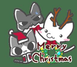 Christmas of nyanko sticker #9026266