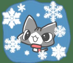 Christmas of nyanko sticker #9026269