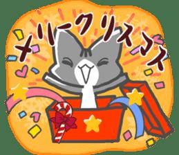Christmas of nyanko sticker #9026270