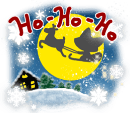 Christmas of nyanko sticker #9026278