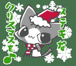 Christmas of nyanko sticker #9026279