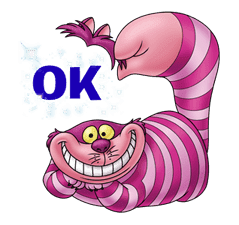 Alice in Wonderland sticker #21579