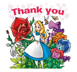 Alice in Wonderland sticker #21585